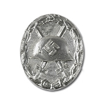 German Wound Badge - Silver - WWII Repro