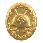 German Wound Badge - Gold - WWII Repro