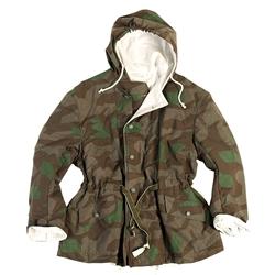 22861432276 German Splinter Camouflage Field Jacket - Reversible - WWII Repro