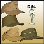 German Afrika Korps Field Caps