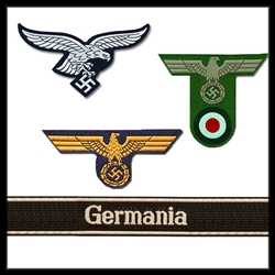 German WW2 Insignia and Cuff Titles