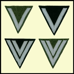 German Rank Chevrons