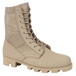 Classic Military Jungle Boots - Desert Tan, jungle boots,jungle combat boots,combat boots,gi jungle boots,ripple sole boots,speedlace boots,rubber sole,military jungle boot,military boot,military combat boots,combat boots,boots,panama sole boots,Vietnam jungle boots,jungle combat boots,army combat boots,military style boots,usmc boots,airsoft boots,rothco boots, service boots, vietnam boots, vietnam military boots, black combat boots, tan boots