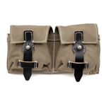 German G43 Canvas Magazine Pouch - Beige - WWII Repro