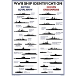 WWII Ship Identification Poster