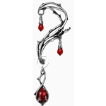 Passion Earring Wrap Pewter Alchemy E287
