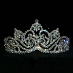 Full and Elegant Burst Tiara 172-13118