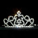 Wire Rim Diamond Top Tiaras 172-13252