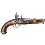 1800 French Cavalry Flintlock Pistol -  Non-Firing FD1011