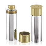Shotgun Cartridge Pewter Flask 4 Ounces