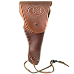 US Officer's WWII Brown Holster