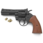 ".357 Magnum Blank Firing Revolver Black 4"" Barrel 9mm 2438-211"