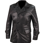 German Leather U-Boat Officer Jacket - Reproduction