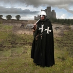 Hospitaller Cloak Wool and Linen GB0135