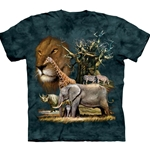 African Collage Adult Plus Size T-Shirt 43-1030620