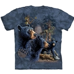 Find 13 Black Bears Adult T-Shirt 43-1034810