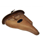 German WWII P38 Hardshell Holster Natural (Brown) Reproduction
