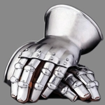 Steel Hourglass Gauntlets 14th Century 1.5 mm