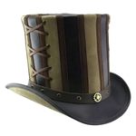 Absinthe Stovepipe Top Hat