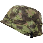 German WWII SS Blurred Edge Camo Helmet Cover Repro 69-029326