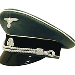 German SS Infantry Officer Visor Cap Collectors Grade WWII