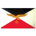 German WWII Luftwaffe Flag Reproduction 3' X 5'
