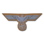 German DAK Bevo Breast Eagle EM Enlisted - WWII Repro