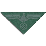 German Army Tunic Bevo Breast Eagle M-44 EM Enlisted - WWII Repro