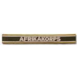 German Afrikakorps Cuff Title WWII Replica
