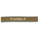 German Army Officers Afrika Korps Cuff Title WWII Replica
