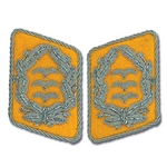 German Luftwaffe Bullion Collar Tabs - Officer - Oberst