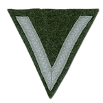 German Rank Chevron - Army - Field Grey - Gefreiter
