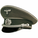 German Army Visor Cap - Officer - Collectors Grade - Infantry