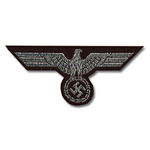 German Army Panzer Bevo Breast Eagle - WWII Repro - Officer