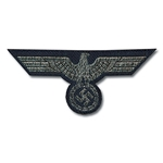German Army Bevo Breast Eagle - WWII Repro - Officer