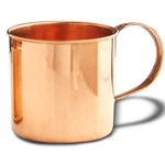 Solid Copper Coffee Mug 730019