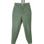 M43 German Field Grey Wool Trousers WWII