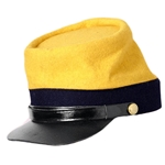 Civil War Kepi - 2nd Pattern - Red, Yellow or Blue ACAC246