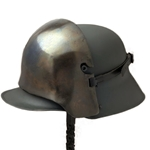 German Helmet Shield WWI Stirnpanzer AH-6032