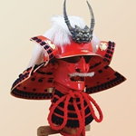 Japanese Samurai Helmet Takeda Shingen and Mempo