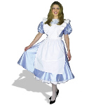 Alice Adult Plus Costume 100-127466