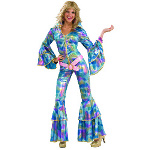 70's Disco Mama Adult Costume 100-179543