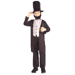 Abraham Lincoln Child Costume 100-196274