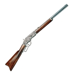 Winchester 1873 Lever-Action Repeating Non-Firing Rifle Pewter  FD1253G
