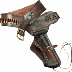 Western Right-Draw Single Rig Holster, Large OC001L