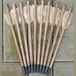 Crossbow Bolt Set of 10 Arrows - Forged Tips