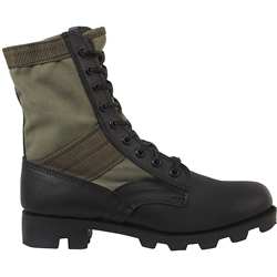 Classic Military Jungle Boots - Olive Drab, jungle boots,jungle combat boots,combat boots,gi jungle boots,ripple sole boots,speedlace boots,rubber sole,military jungle boot,military boot,military combat boots,combat boots,boots,panama sole boots,Vietnam jungle boots,jungle combat boots,army combat boots,military style boots,usmc boots,airsoft boots,rothco boots, service boots, vietnam boots, vietnam military boots, black combat boots, tan boots