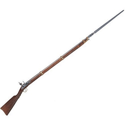Colonial Replica Charleville Rifle With Bayonet Non-Firing1806 French Rifle with Bayonet Non-Firing FD1036