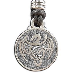 Celtic Dragon Pendant Necklace 121.1407