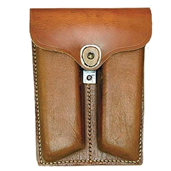 Wwii Gear 1911 Leather Dual Mag Pouch